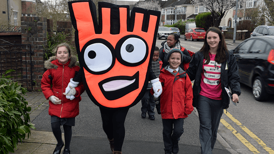 Our Walk to School campaign