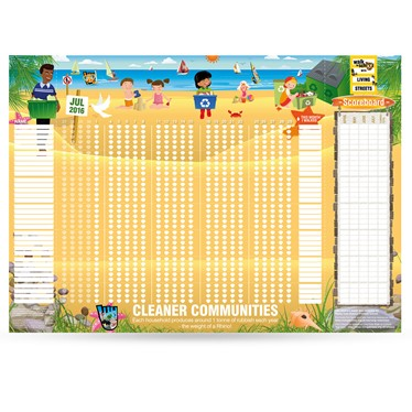 July 2016 WoW Wallchart - Cleaner Communities