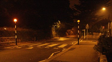 belisha beacon crossing