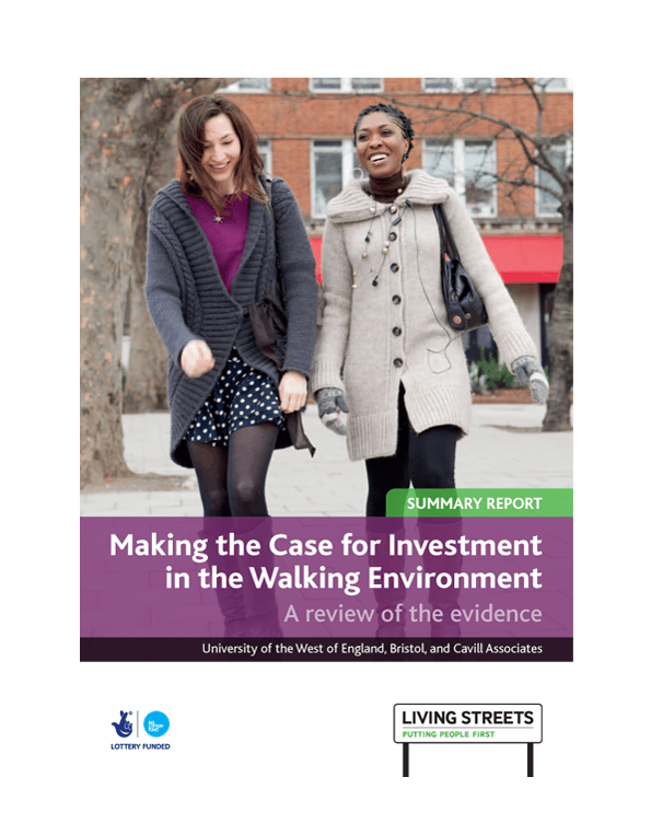 Making the case for investment in walking report