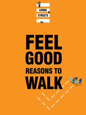 Download our Feel good reasons to walk booklet