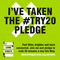 I've taken the #Try20