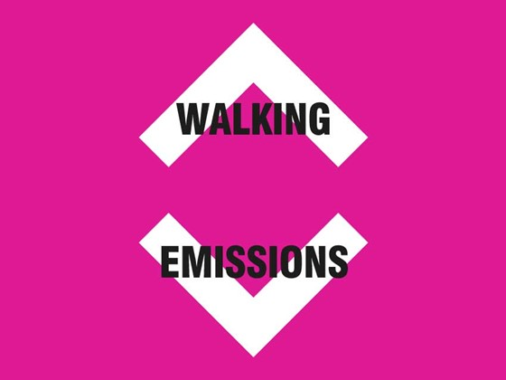 Walking up emissions down