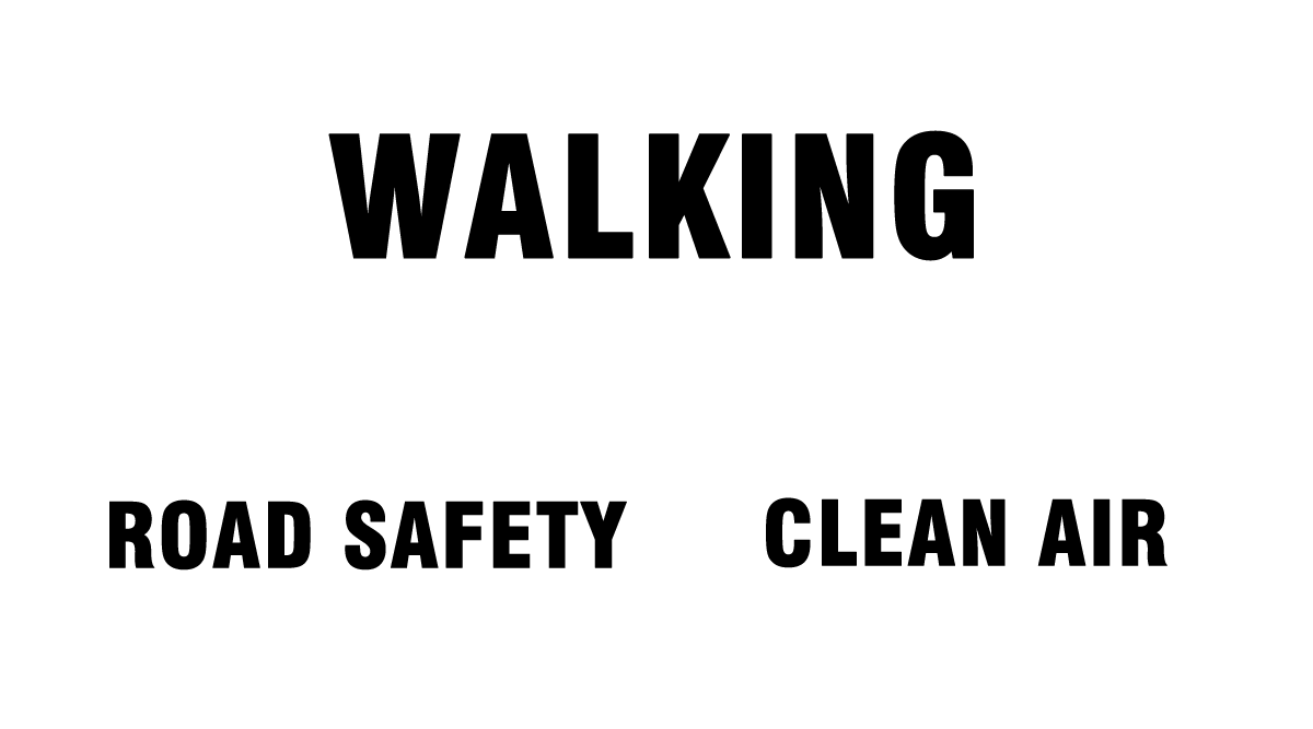 When walking increases...