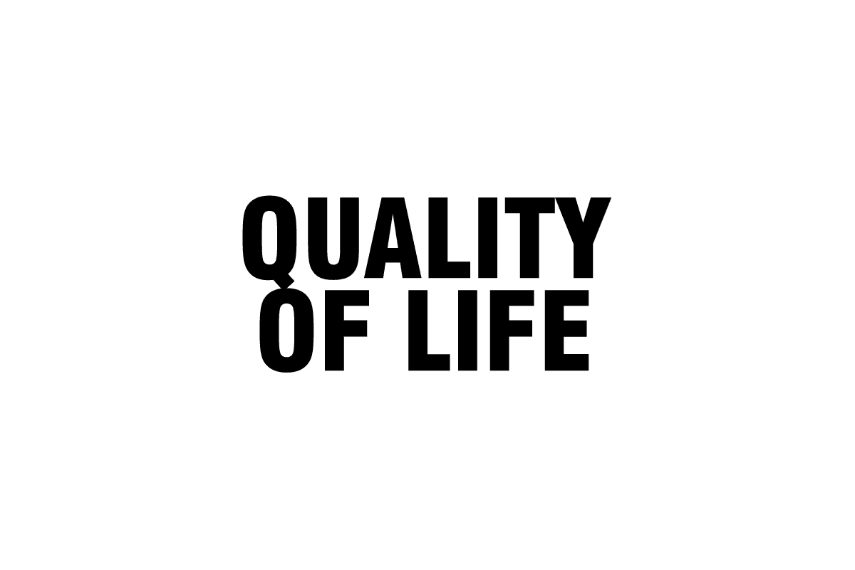 Quality of life improves