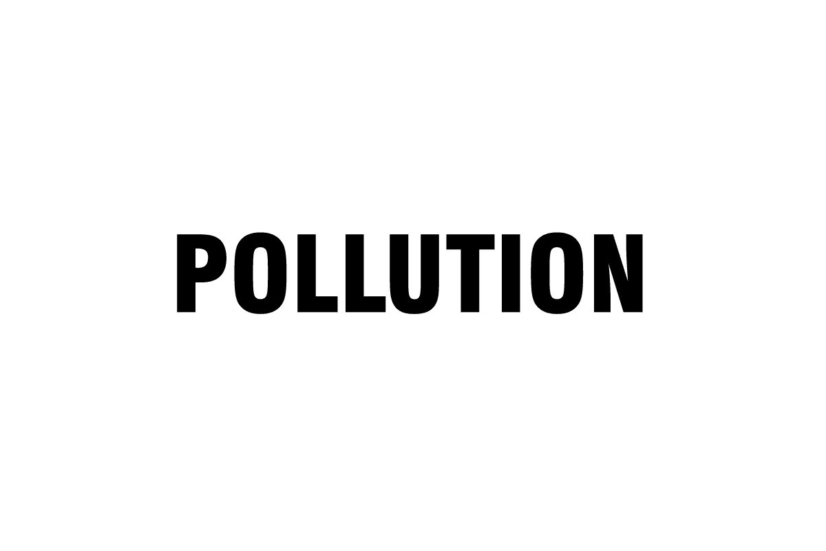 Pollution goes down