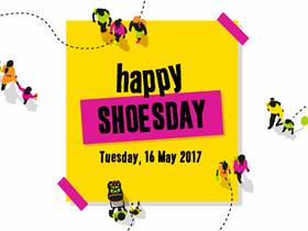 Happy Shoesday graphic