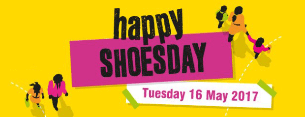 Happy Shoesday is 16 May 2017