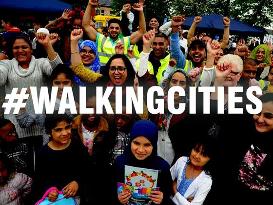 Walking cities