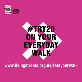 #Try20 on every walk shareable