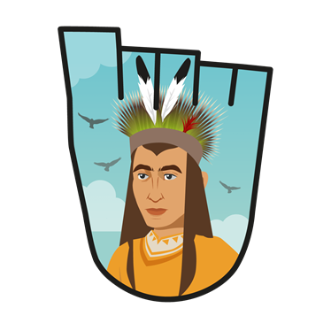October 2017 WOW badge - Native American Nations (pack of 10)