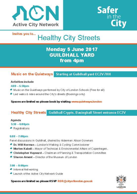 Healthy City Streets