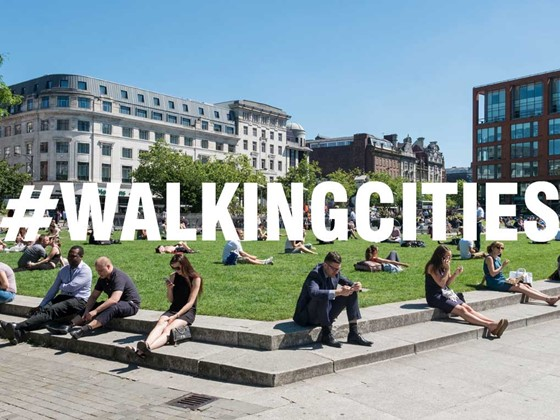Walking Cities: Greater Manchester