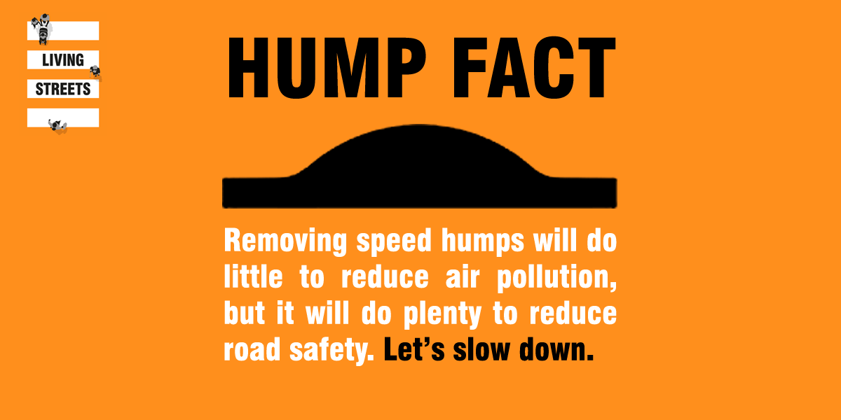 Speed humps - true or false? - Living Streets