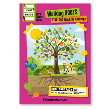 Walking Roots Five-day walking challenge - classroom pack (KS1/P1-3)
