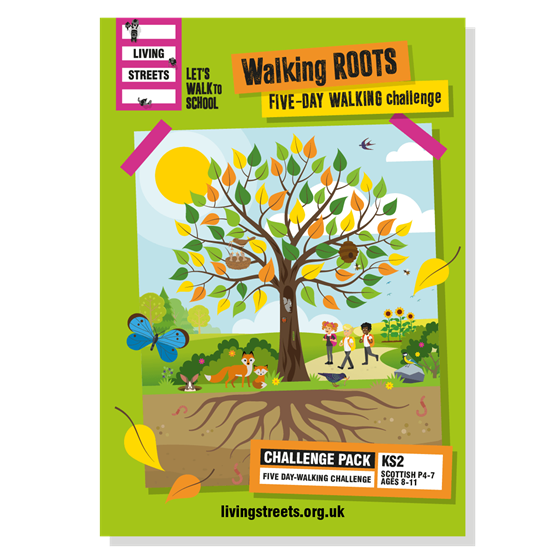 Walking Roots Five-day walking challenge - classroom pack (KS2/P4-7)
