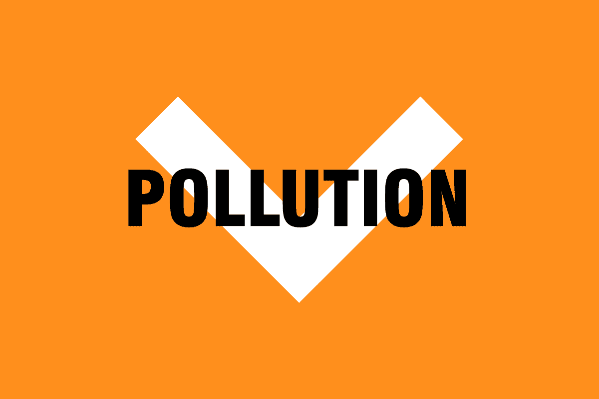 Pollution down