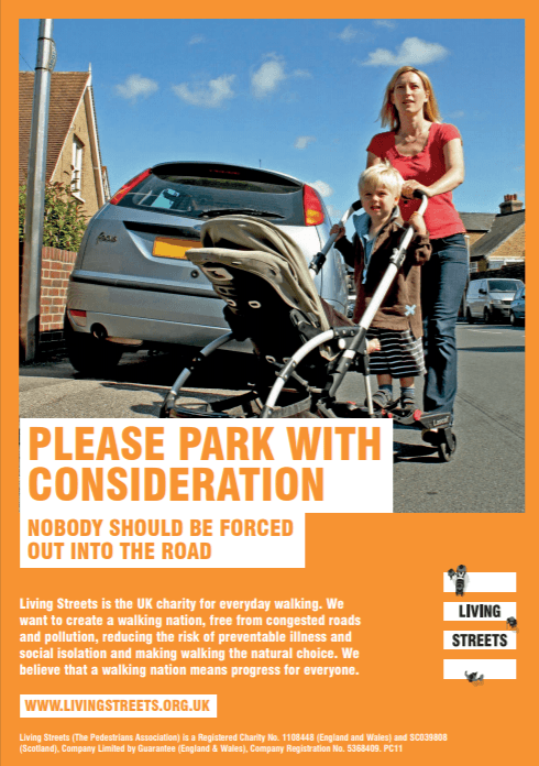 Pavement parking poster 1