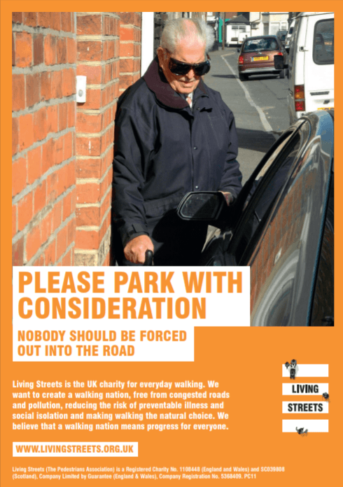 Pavement parking poster 2