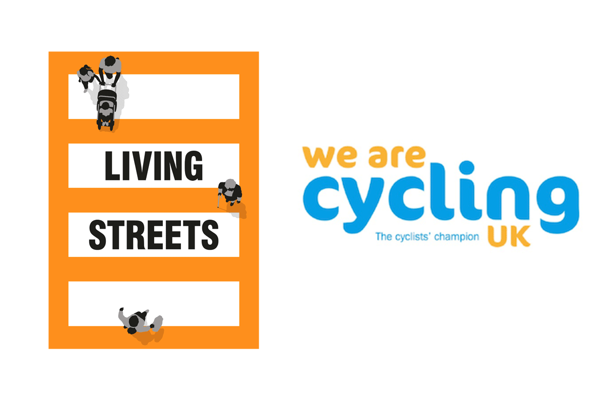 Living Streets and Cycling UK