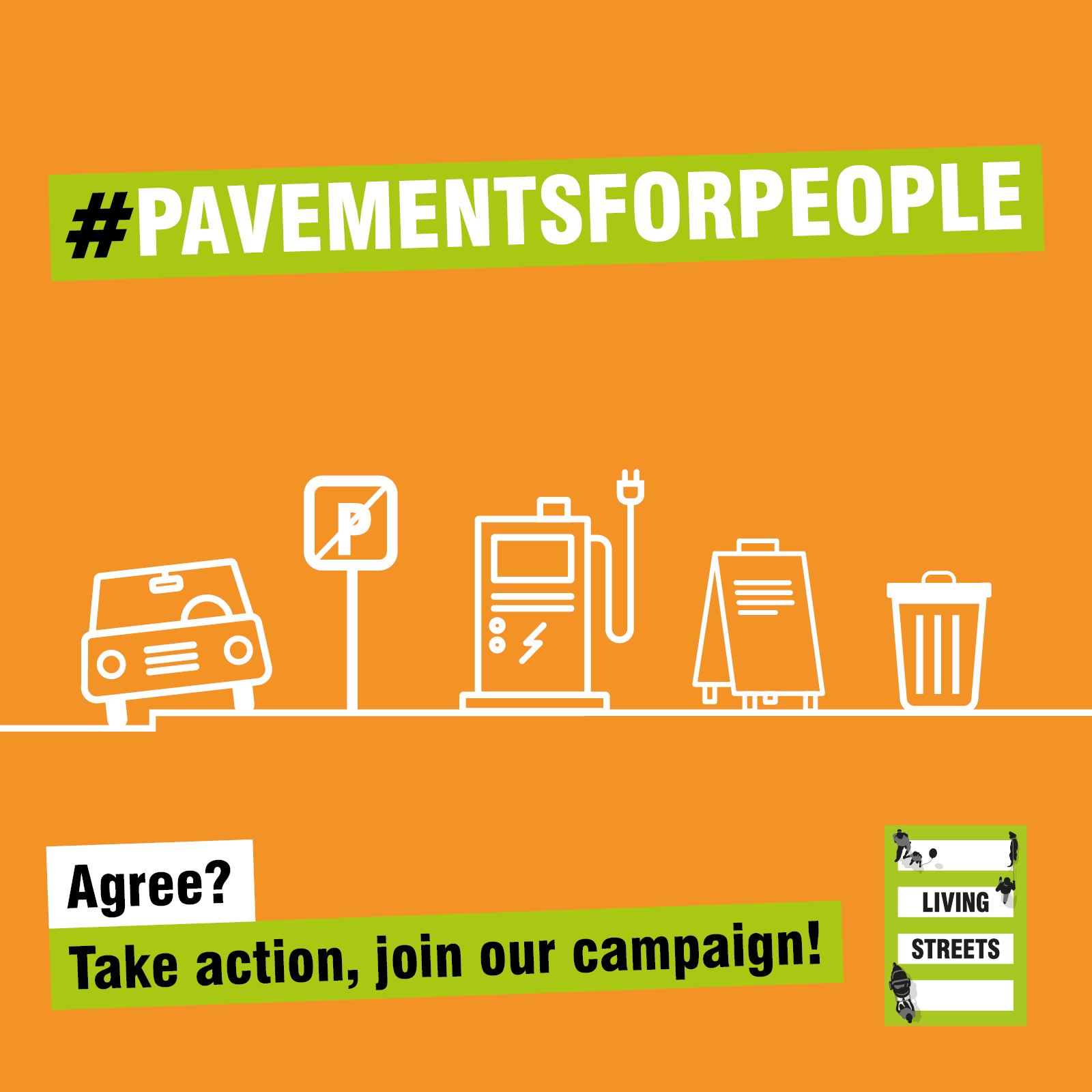 Pavements are for people