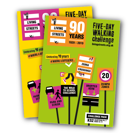 FIVE-DAY WALKING CHALLENGE - CLASSROOM PACK KS2/(P5-7) | Living Streets