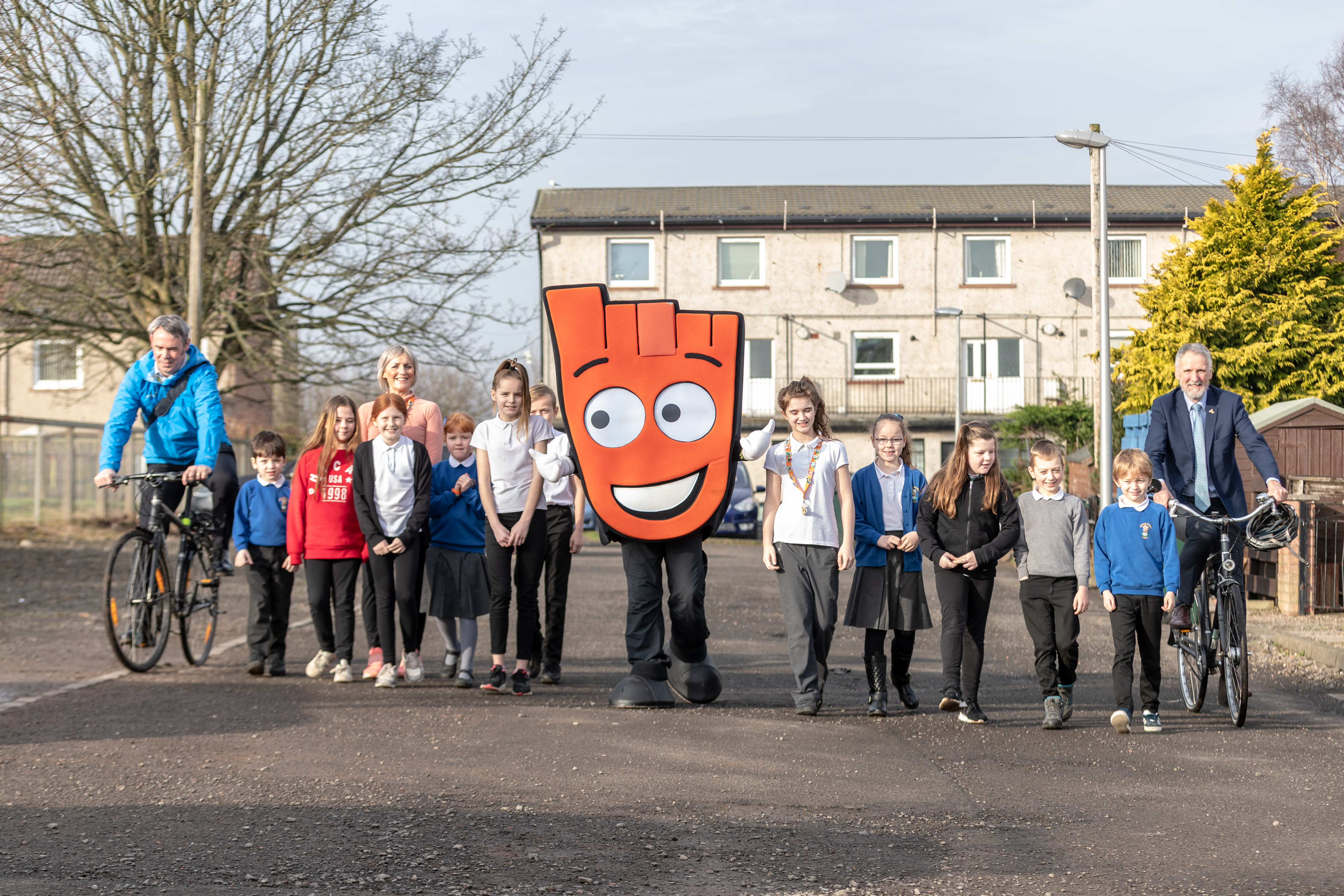 Letham Primary School pupils