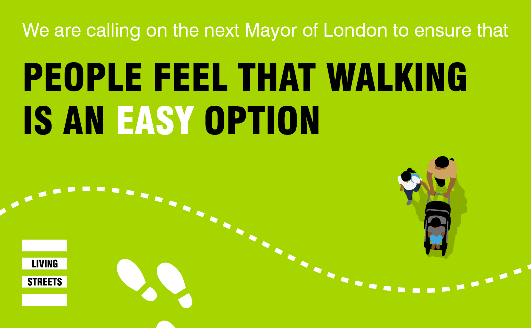 People feel that walking is an easy option