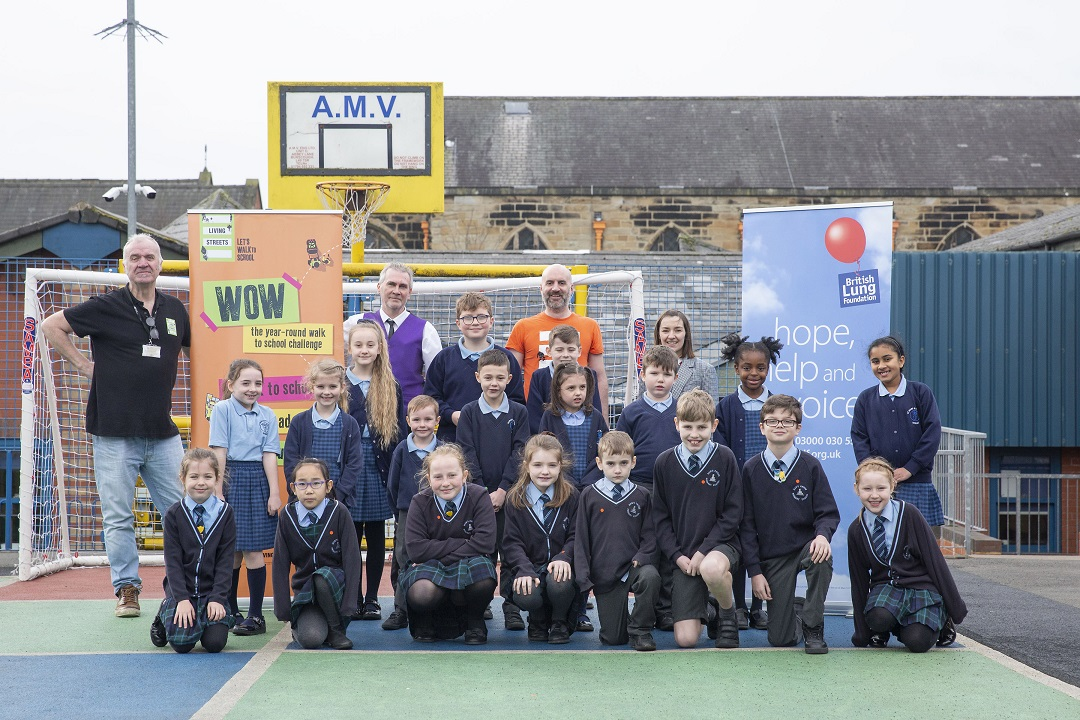 Pupils launch air quality guidance