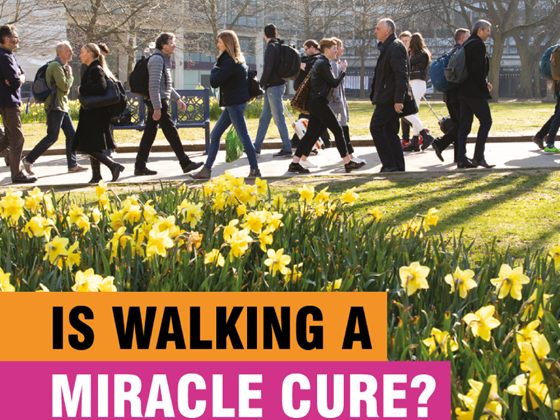 Is Walking A Miracle Cure?