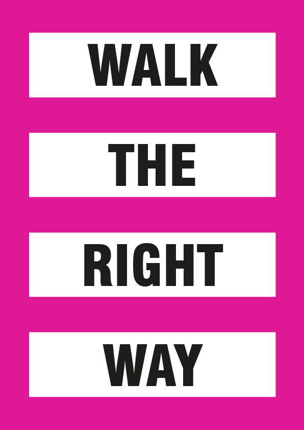 Wak the right way graphics