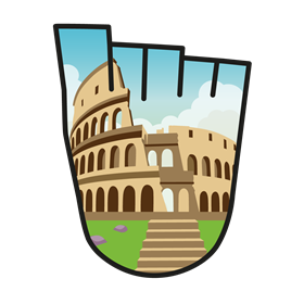 WOW badge Colosseum
