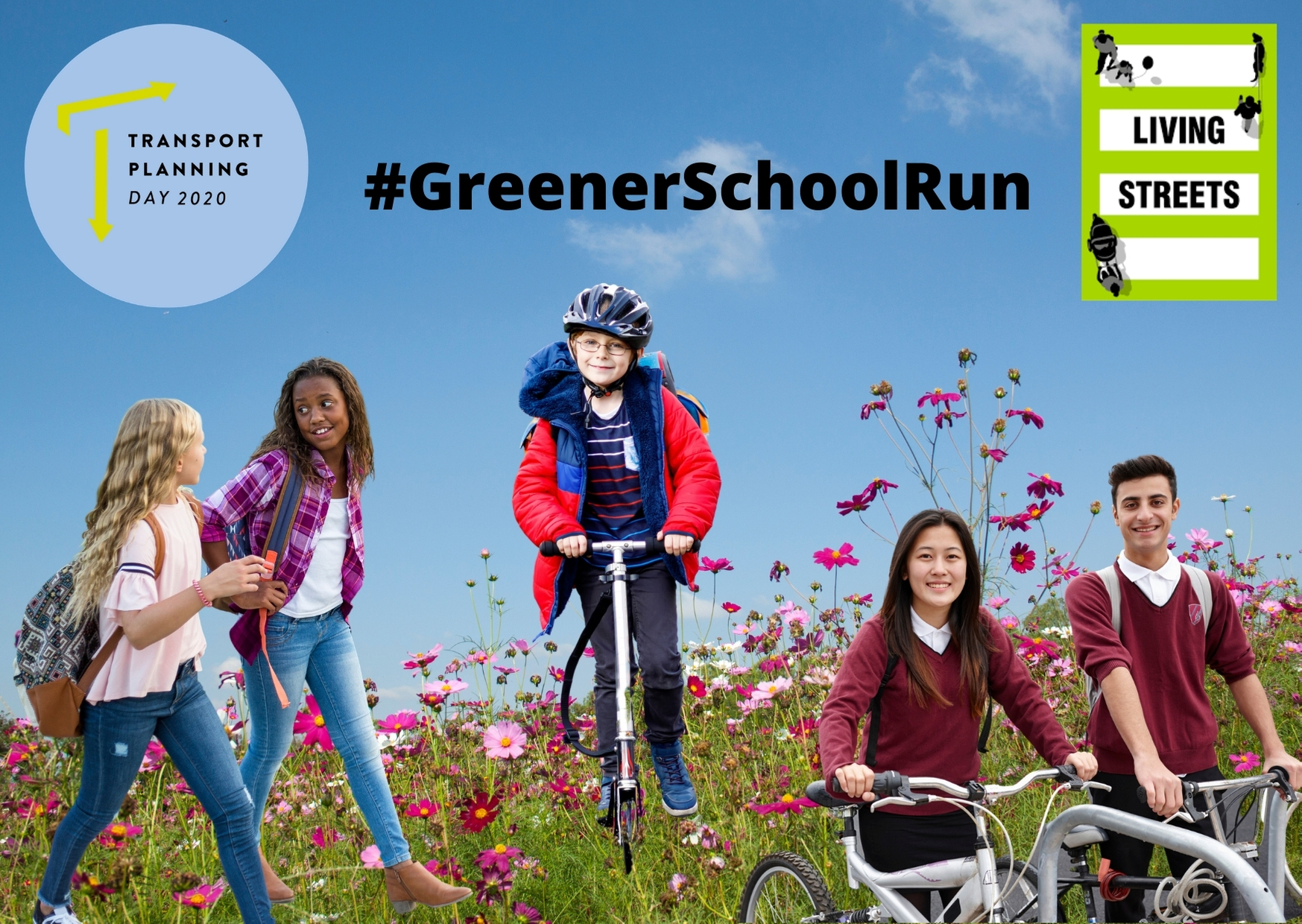 greener school run poster